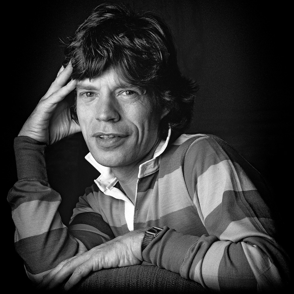 Mick-Jagger-Savoy--Grinning