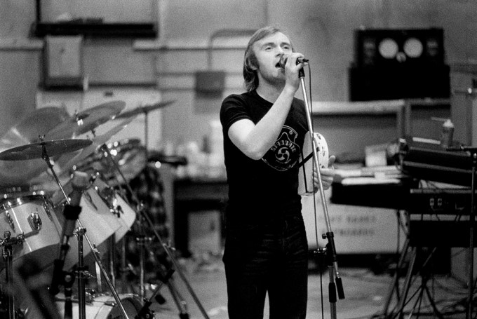 Image of Phil Collins from previous Genesis Session