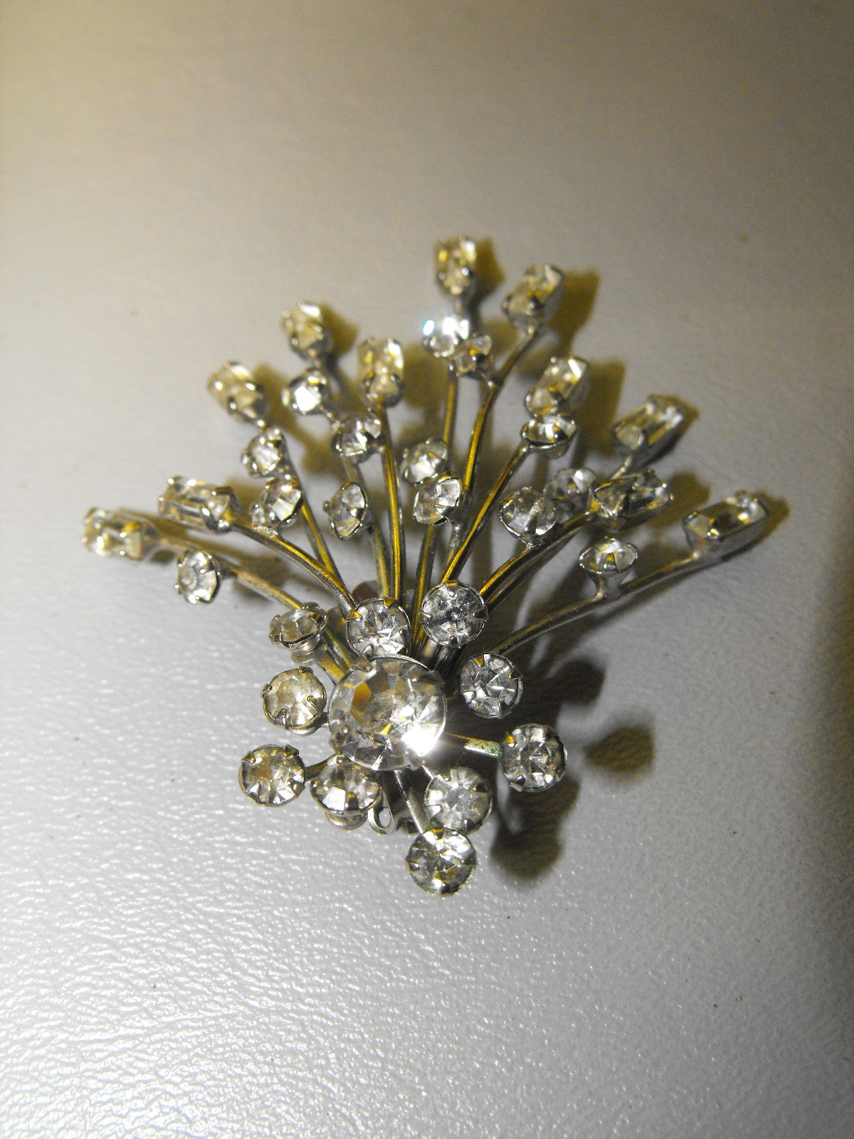 1950 S Vintage Starburst Earrings Clive S Unique Jewelry