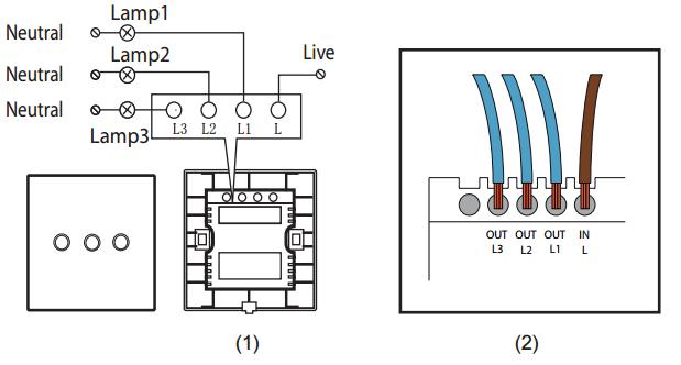 Wiring A 2 Gang Light Switch Uk