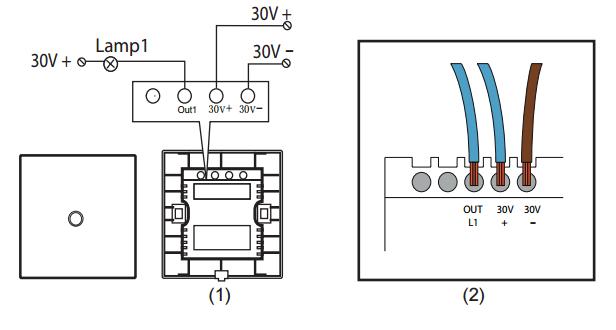 Wiring Diagram Gallery: 2 Gang Light Switch Wiring Diagram Uk