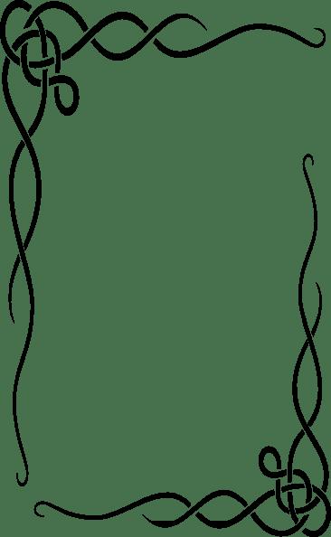 Contoh Bingkai Gambar : contoh, bingkai, gambar, Leafy, Frame, Clker.com, Vector, Online,, Royalty, Public, Domain