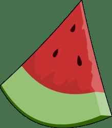 Watermelon Slice Wedge Clip Art at Clker com vector clip art online royalty free & public domain