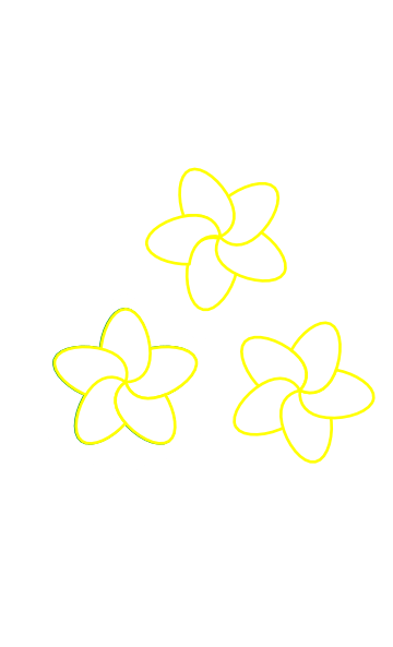 Plumeria Clipart : plumeria, clipart, Plumeria, Clker.com, Vector, Online,, Royalty, Public, Domain