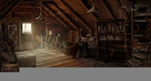 attic dusty clipart clker clip domain rating