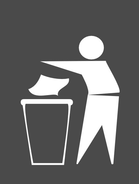 Buang Sampah Pada Tempatnya Logo : buang, sampah, tempatnya, Gambar, Orang, Membuang, Sampah