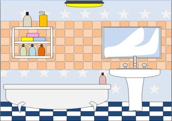 Bathroom 2 Free Images at Clker com vector clip art online royalty free & public domain