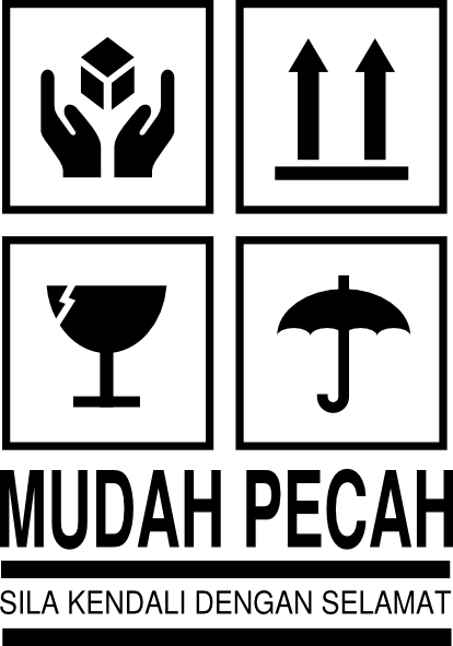 Logo Barang Mudah Pecah : barang, mudah, pecah, Fragile, Mudah, Pecah, Clker.com, Vector, Online,, Royalty, Public, Domain
