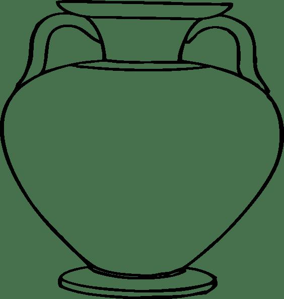 Printable Flower Vase Template