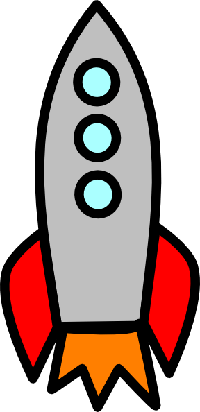 Gambar Roket Animasi : gambar, roket, animasi, Rocket, Blast, Fat-large, Clker.com, Vector, Online,, Royalty, Public, Domain