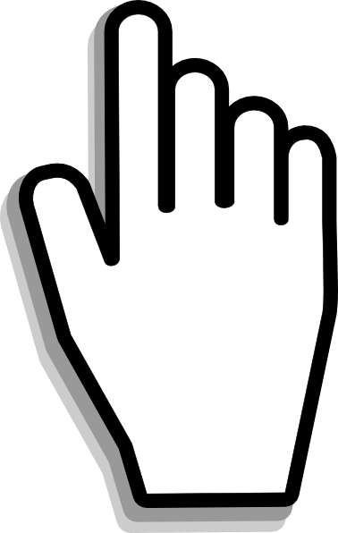 Icon Tangan Png : tangan, Clker.com, Vector, Online,, Royalty, Public, Domain