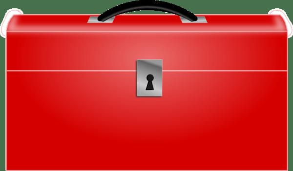 Red Toolbox Clip Art At Clkercom  Vector Clip Art Online, Royalty Free & Public Domain