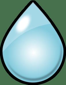 Cartoon Rain Drop : cartoon, Clker.com, Vector, Online,, Royalty, Public, Domain