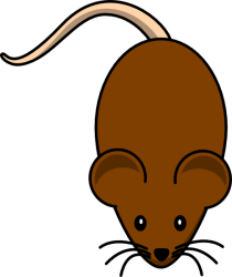 brown rat clipart mouse clip transparent grey cliparts mean browns background clker library clipground cliparting vector