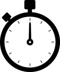 stopwatch clip clker clipart icon ocal shared timer
