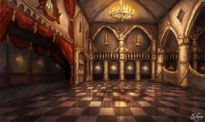 castle interior anime fantasy inside castles ballroom room rooms concept interiors throne royal medieval clipart banquet vector rpg clip artwork
