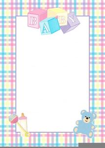 Baby Shower Border Clipart : shower, border, clipart, Shower, Invitation, Border, Clipart, Images, Clker.com, Vector, Online,, Royalty, Public, Domain