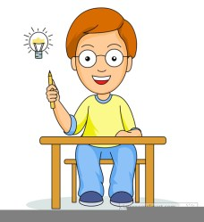 clipart thinking students clip cliparts vector clker sas domain shared