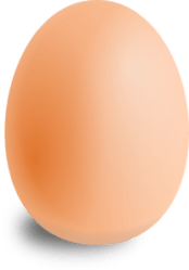 egg brown clip clker clipart cliparts vector ocal shared