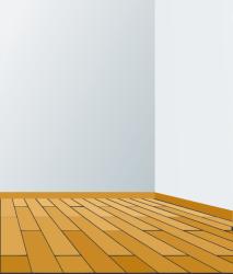 Empty room clipart