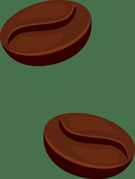 Vector Biji Kopi : vector, Coffee, Beans, Clker.com, Vector, Online,, Royalty, Public, Domain