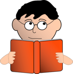 student looking clip clipart vector clker cliparts shared