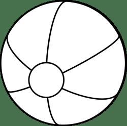 Beach Ball Clip Art at Clker com vector clip art online royalty free & public domain