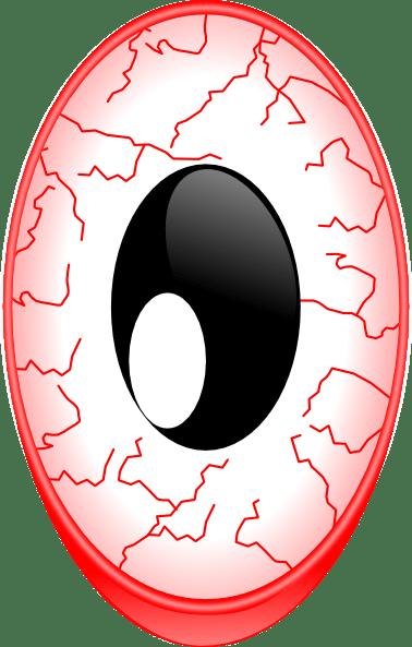 Bloodshot Eyes Png : bloodshot, Bloodshot, Clker.com, Vector, Online,, Royalty, Public, Domain