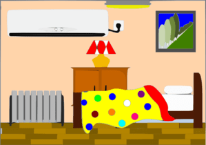clipart bedroom bed clip clean vector background cliparts dots boys kid clker inside cleaning library illustration sherma shared