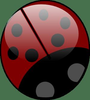 ladybug simple clipart clker clip transparent vector hi webstockreview