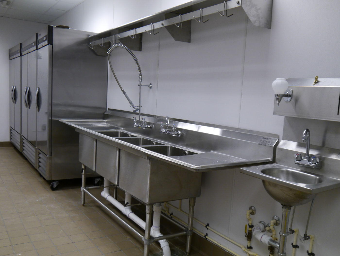 commercial kitchen faucets with sprayer needs certified lower keys plumbing | where quality is ...