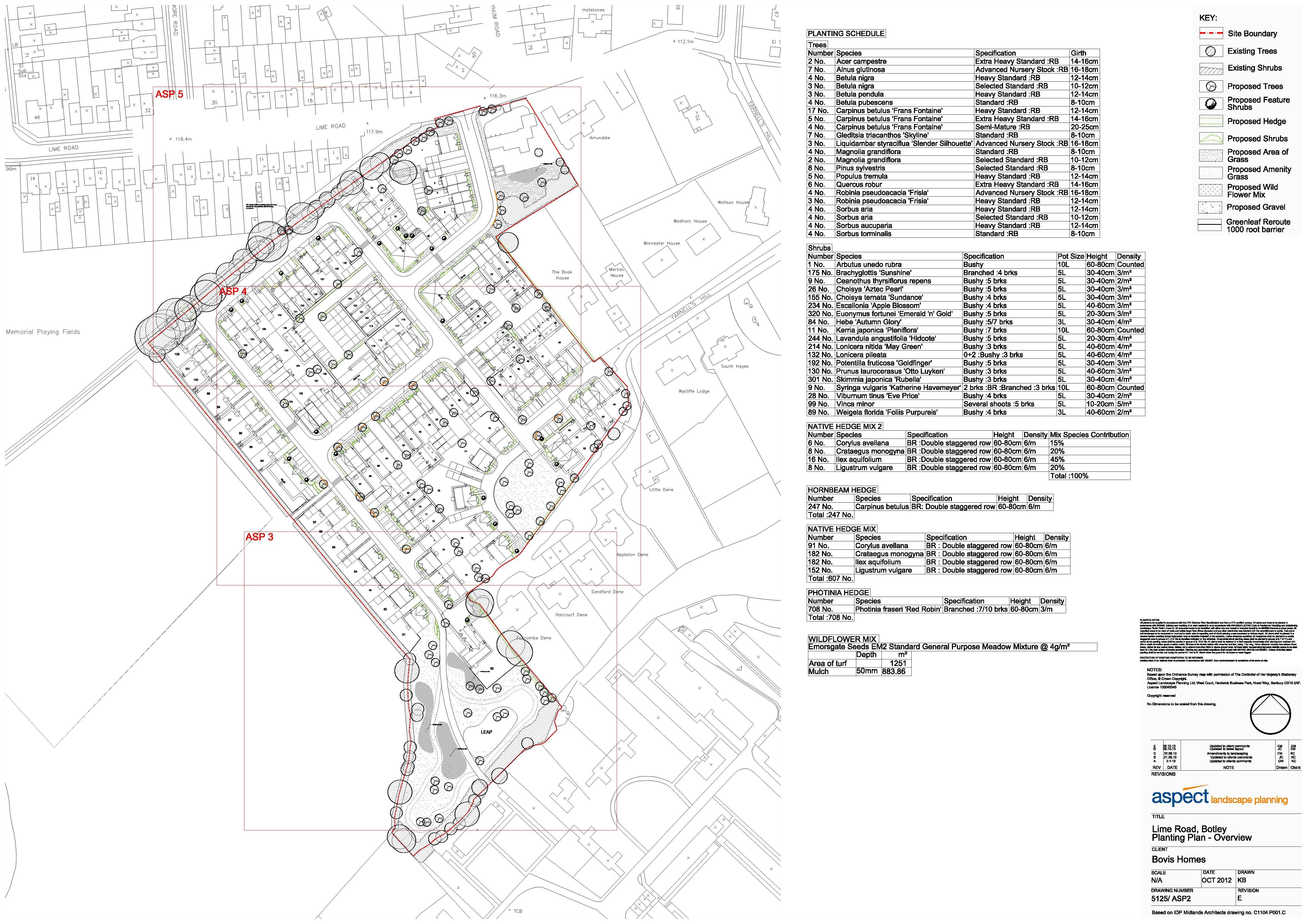 Lime Road Dev – Bovis Homes Floor Plans