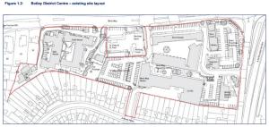 Map Doric Botley District Centre