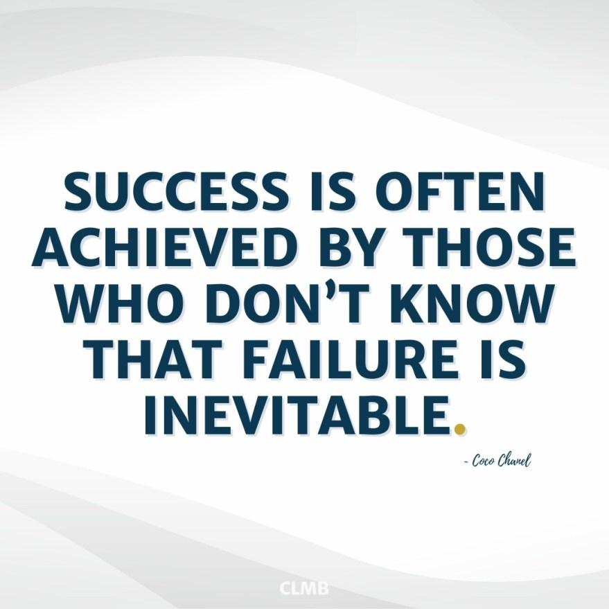 Coco Chanel Success Quote