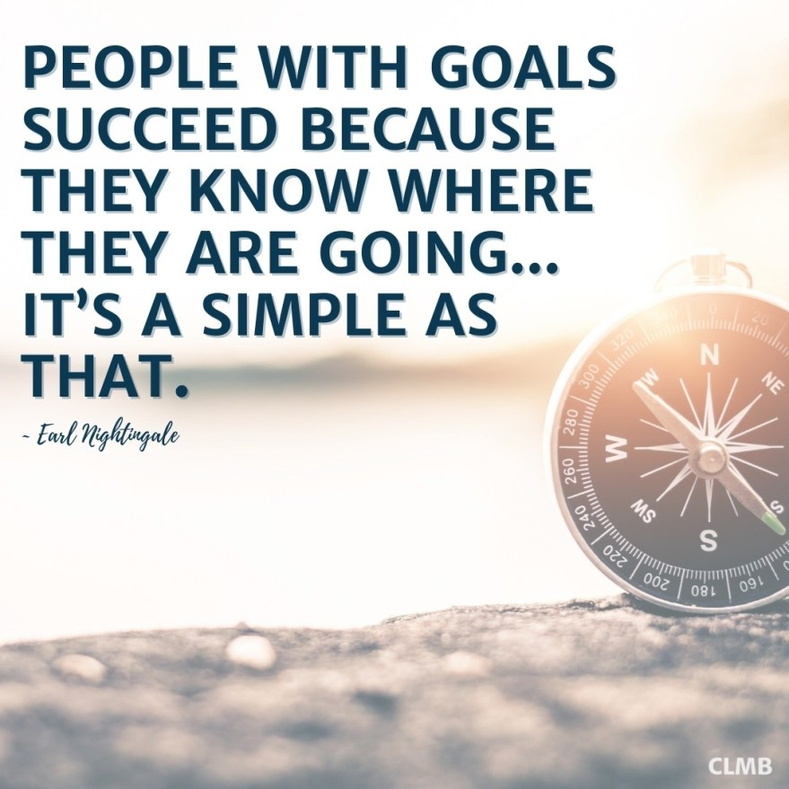 Earl Nightingale People With Goals Motivational Quote