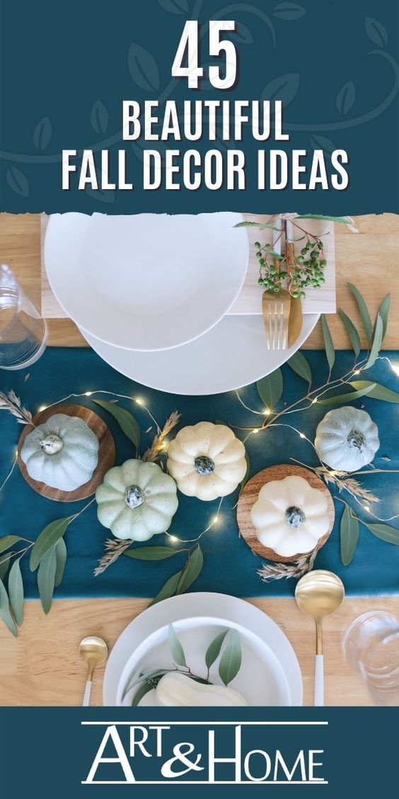 Fall Decor Content Promotion Pin