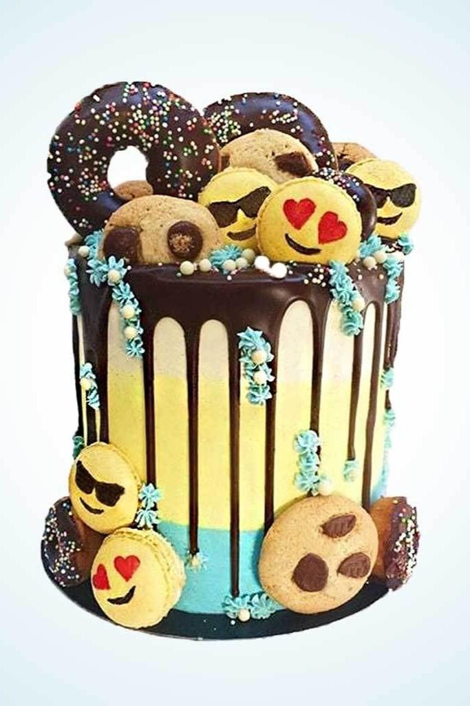Pinterest Content Promotion Birthday Cake Example