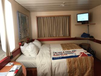 fantasy carnival cabin cabins interior ship r175 stateroom inside deck staterooms plans