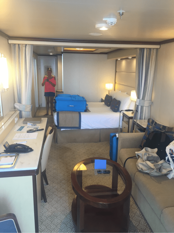 princess cruises sofa bed couch potato sofas suite r417 on royal princess, category ma