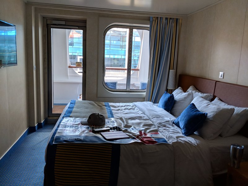 sofa beds at amazon low profile table balcony cabin 2365 on carnival vista, category 7c