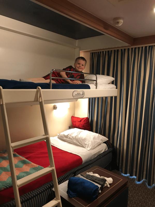 Deluxe Family Oceanview Stateroom With Verandah Cabin