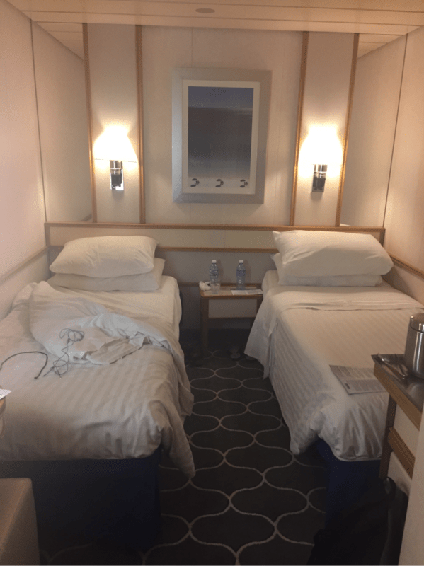 Interior Stateroom Cabin Category SQ Empress of the Seas