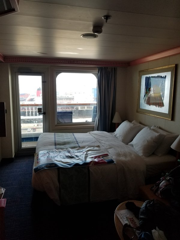 Balcony Stateroom Cabin Category 8D Carnival Conquest