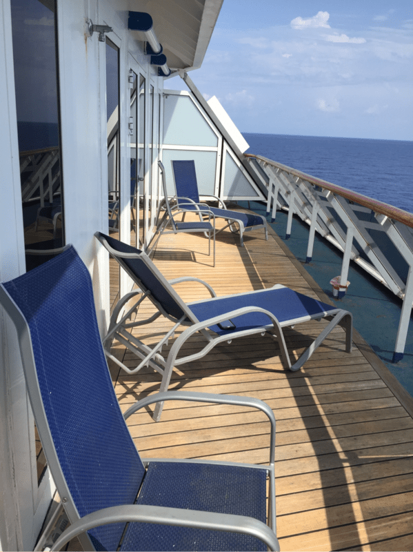 Vista Suite Cabin Category VS Carnival Miracle
