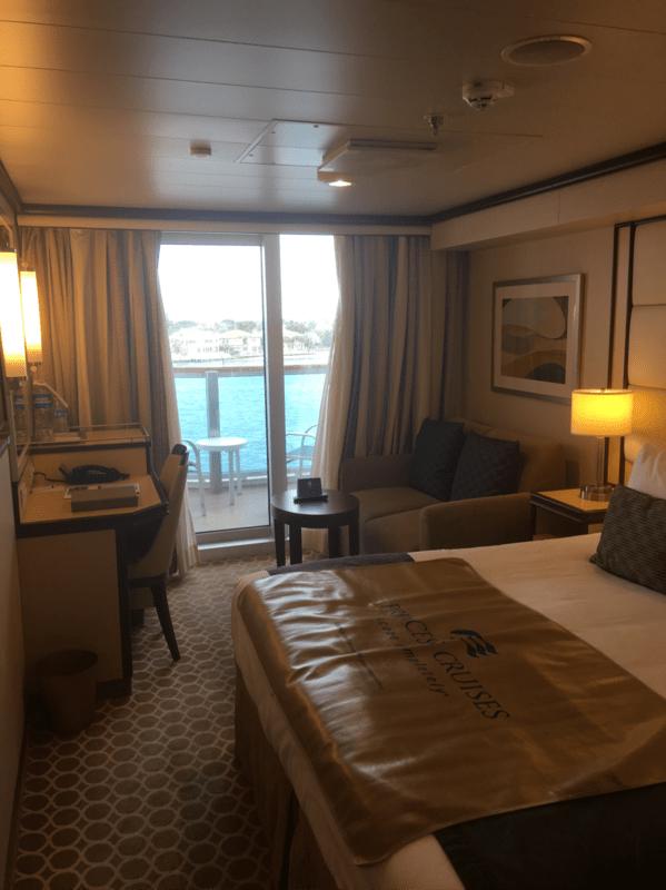 Balcony Cabin E408 on Royal Princess Category DV