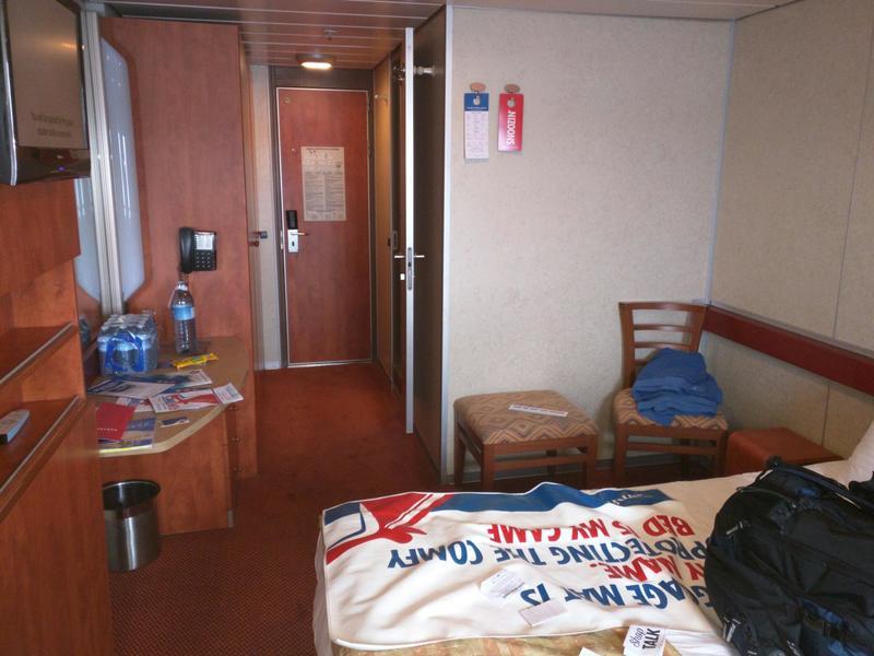 Balcony Cabin M105 on Carnival Sensation Category 8B