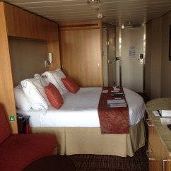 Air Mattress Or Sofa Bed Luxe Frame Slipcover Concierge Class, Cabin Category C3, Celebrity Silhouette