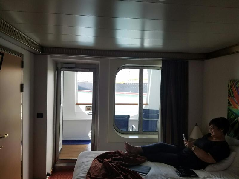 great sofa beds karlanda 3 seater cover balcony cabin 2401 on carnival magic, category 7c