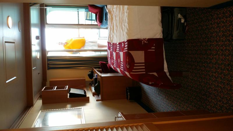 Balcony Cabin 7032 On Disney Dream Category 5C