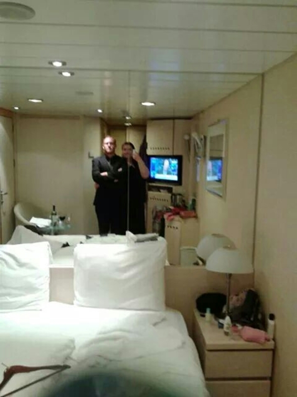 Interior Stateroom Cabin Category S9 Celebrity Constellation